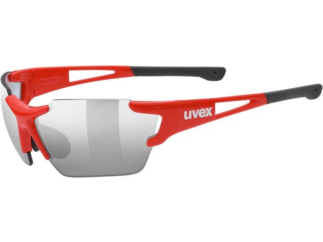 UVEX Sportstyle 803 Race VM Lunettes de sport, red/silver